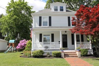 Natick Single Family Home Under Agreement: 8 Jefferson St