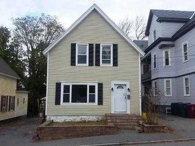 Methuen, Lowell, Haverhill Single Family Home Under Agreement: 19 Sargent St