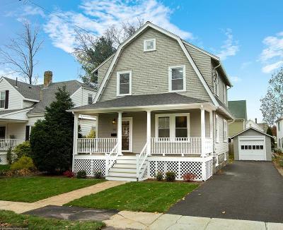 Milton Single Family Home Contingent: 52 Grafton Avenue