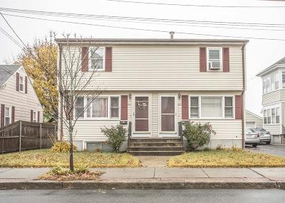 RI-Providence County Multi Family Home For Sale: 289/291 Columbus Ave