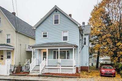Malden Single Family Home For Sale: 41 North Milton Street