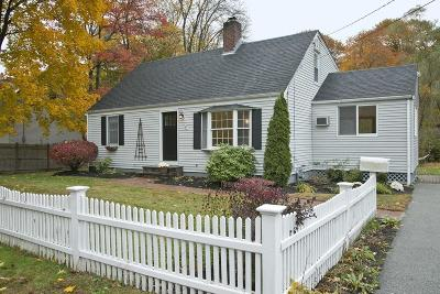 Hingham Single Family Home Under Agreement: 47 Smith Road