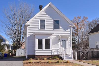 Maynard Single Family Home Under Agreement: 10 Sudbury St