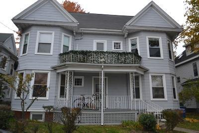 Somerville Multi Family Home Under Agreement: 127 Elm St