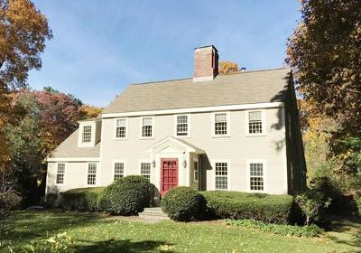 Wellesley Single Family Home Under Agreement: 107 Cliff Rd