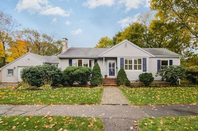 Milton Single Family Home Contingent: 55 Silver Brook Rd
