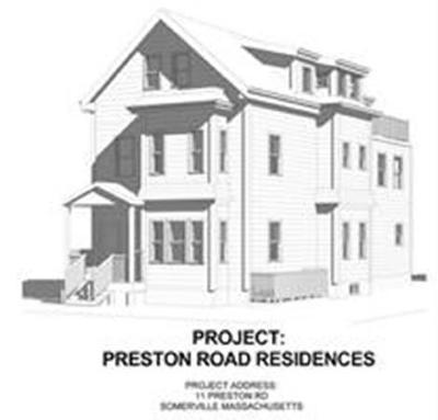 Somerville Multi Family Home For Sale: 11 Preston Rd