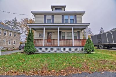 Brockton Single Family Home Contingent: 138 Hillberg Ave