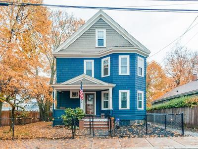 MA-Suffolk County Single Family Home For Sale: 34 Hillsdale St