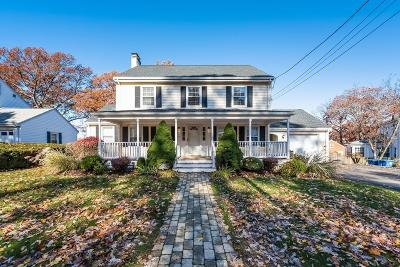 Braintree Single Family Home Under Agreement: 7 Parkside Cir