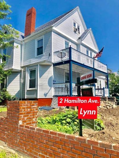 Lynn Multi Family Home For Sale: 2-4 Hamilton Ave
