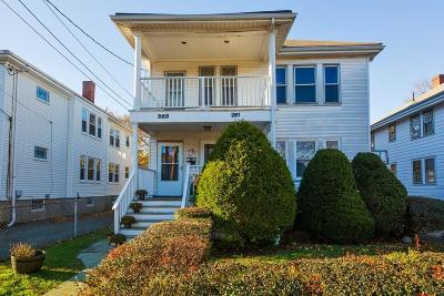 MA-Suffolk County Multi Family Home For Sale: 261-263 Roslindale Ave