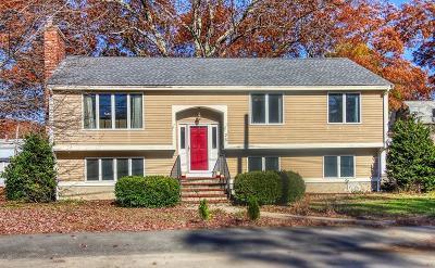 Dedham Single Family Home Under Agreement: 26 Birch Street