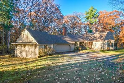 Wayland Single Family Home Contingent: 3 High Rock Rd