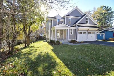 Needham Single Family Home For Sale: 1312 Great Plain Avenue