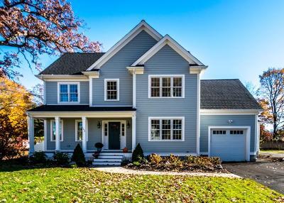 Needham Single Family Home For Sale: 162 Warren Street