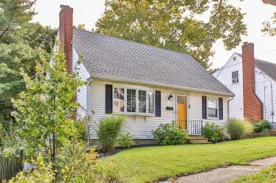Quincy Single Family Home For Sale: 78 Upton Street
