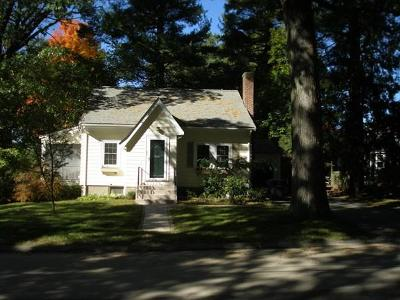 Dedham Single Family Home Contingent: 195 Madison St