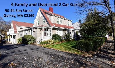 Quincy Multi Family Home New: 90-94 Elm St