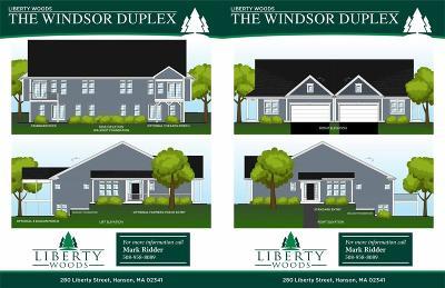 Hanson Condo/Townhouse For Sale: 280 Liberty #Bld 6