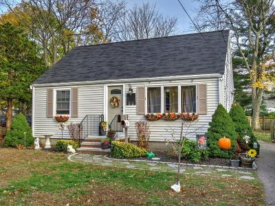 MA-Norfolk County, MA-Plymouth County Single Family Home New: 19 Winona Way