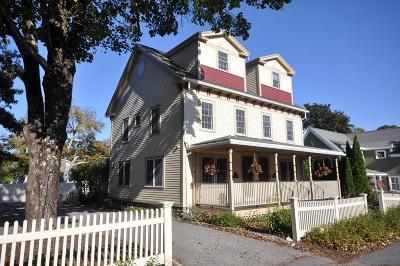 Concord Single Family Home Under Agreement: 1846 Main St #1846
