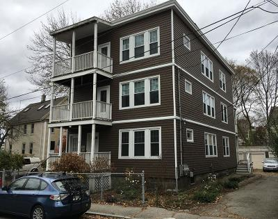 MA-Suffolk County Multi Family Home For Sale: 11-15 Stedman St