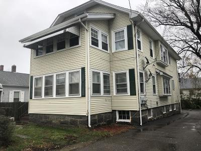 Quincy Multi Family Home Price Changed: 127 W Elm Ave