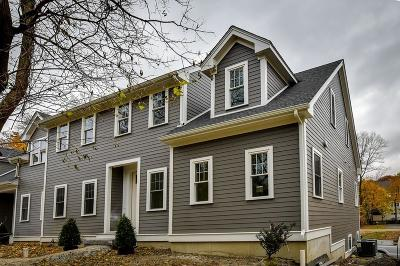 Acton, Boxborough, Carlisle, Concord, Framingham, Hudson, Lincoln, Marlborough, Maynard, Natick, Stow, Sudbury, Wayland, Weston Condo/Townhouse For Sale: 4b Temple Street #2