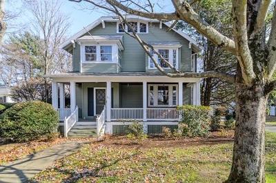 Needham Single Family Home Under Agreement: 86 Warren Street