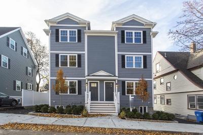 Waltham Condo/Townhouse For Sale: 15 Orange Street #1