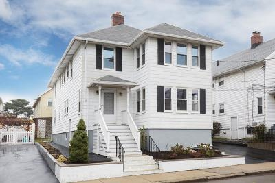 Somerville Multi Family Home Under Agreement: 79 Puritan Road
