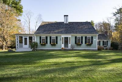 Scituate Single Family Home For Sale: 193 Booth Hill Rd
