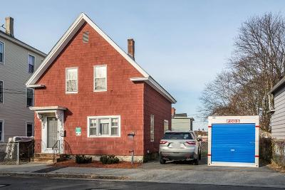 Lowell Single Family Home Under Agreement: 234 Lincoln St