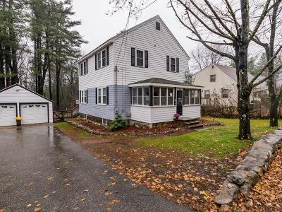 Billerica Single Family Home Under Agreement: 302 Andover Rd