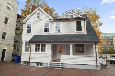 Brookline Rental For Rent: 26 Babcock Street #1
