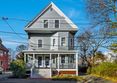 Cambridge Condo/Townhouse Under Agreement: 4-6 Spruce Avenue #1