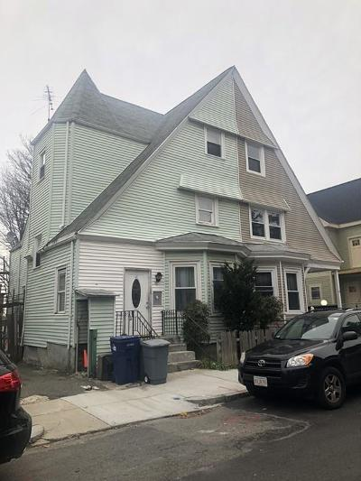 Boston Multi Family Home Under Agreement: 58 Mount Pleasant Ave