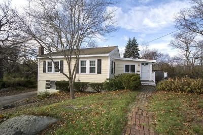 Hingham Single Family Home Extended: 112 Nokomis Rd