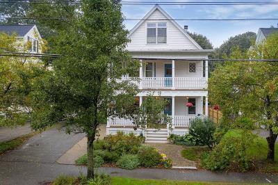 Andover Single Family Home For Sale: 62 Maple Avenue
