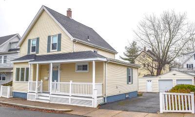Peabody Single Family Home Under Agreement: 39 Highland Park