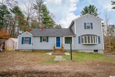 Norton MA Single Family Home Under Agreement: $329,900