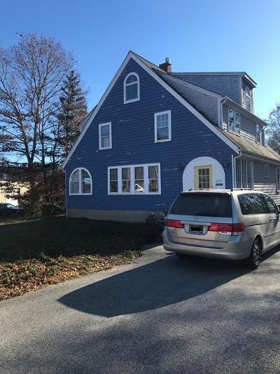 Rockland Single Family Home For Sale: 823 Market St