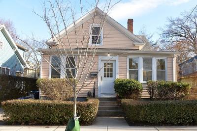 Cambridge MA Single Family Home For Sale: $1,100,000