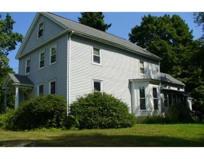 Belchertown Single Family Home Back On Market: 53 Springfield Road