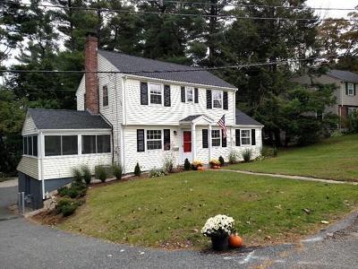 Natick Single Family Home Price Changed: 11 Wheeler Lane
