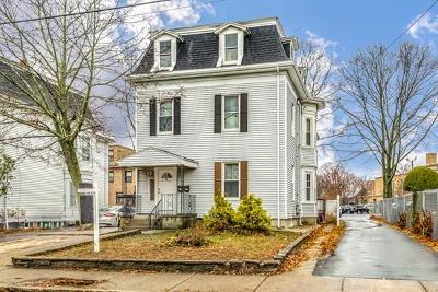 Medford Multi Family Home Under Agreement: 43 Harvard Ave