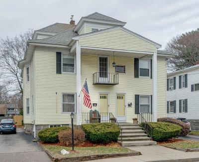 Braintree Multi Family Home Under Agreement: 113-115 Central Avenue