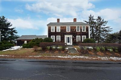 MA-Worcester County Single Family Home For Sale: 1183 Pleasant Street