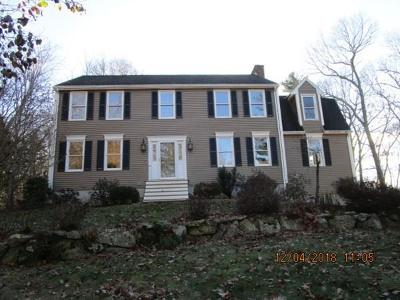 MA-Worcester County Single Family Home For Sale: 54 Whitewood Rd